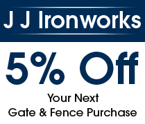 5% Off, Your Next Gate & Fence Purchase